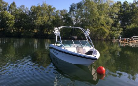 Nautique Sv211 Bow Wakeboard Boat For Sale