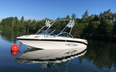 Nautique Sv211 Starboard Bow Wakeboard Boat For Sale