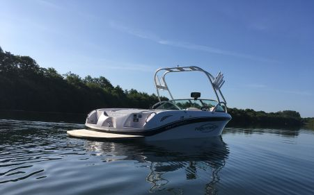 Nautique Sv211 Stern Wakeboard Boat For Sale